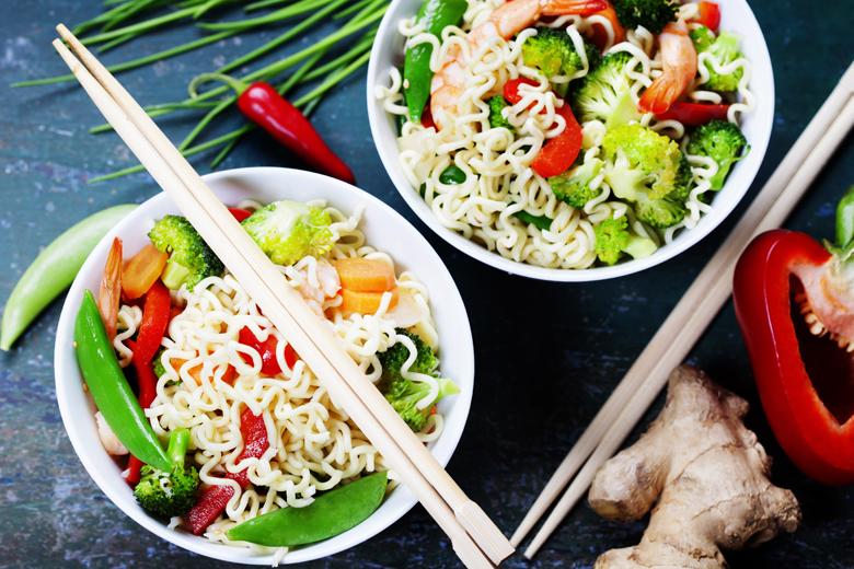 Asiatisch essen in Hamburg Nudeln