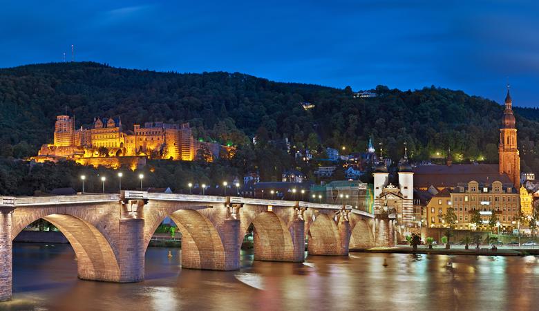 Romantischer Kurzurlaub für Verliebte in Heidelberg