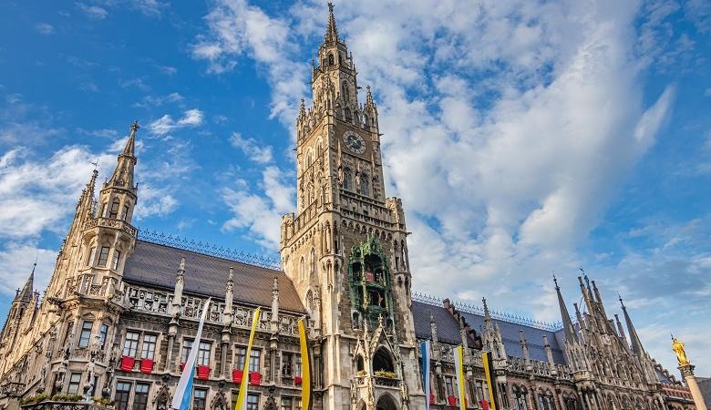 Rathaus München am Marienplatz